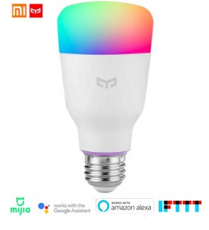 [ORIGINAL] XIAOMI Yeelight Multicolor NEW 2nd Gen MiJia RGB E27 YLDP06YL 10W APP Wireless Smart WiFi Control Voice Control Light Bulb Energy Saving Light - 2nd Generation