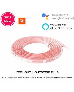 [ORIGINAL] XIAOMI Yeelight New 2018 Smart Aurora Lightstrip Plus Multicolor RGB LED 2M YLDD04YL Wireless Light Strip WiFi Smart App Control for Decoration 100-240V Support for 10M Extension Line