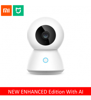 NEW ENHANCED XIAOMI MIJIA Xiaobai Smart Home Dome Camera WiFi CCTV 360° Degree Night Vision 1080P Support AI Motion Detection & Infrared Vision with Panoramic
