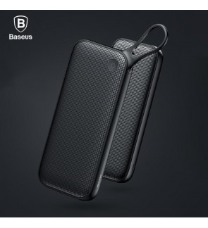 BASEUS Powerful Portable Powerbank Three-Output Power Delivery PD Quick Charge 3.0 Power Bank 20000mAh 5V3A with Dual USB & Type-C Output Battery Charger for Macbook iPhone Samsung Huawei Xiaomi LG