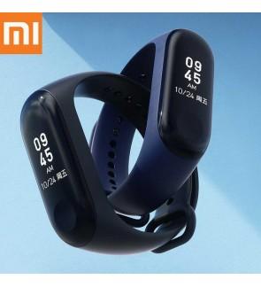 "[ORIGINAL] XIAOMI Mi Band 3 New 2018 0.78"" OLED Big Touch Screen Smart Wristband Waterproof Smartwatch Heart Rate Tracker (Black)"
