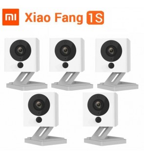 [BUNDLE] 5 Sets of Xiaomi XiaoFang 2018 1S Night Vision WiFi IP Smart 1080P Xiao Fang CCTV Camera