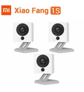 [BUNDLE] 3 Sets of Xiaomi XiaoFang 2018 1S Night Vision WiFi IP Smart 1080P Xiao Fang CCTV Camera
