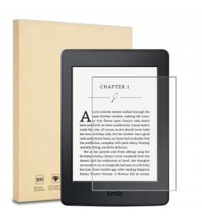 Screen Protector Tempered Glass for Kindle Paperwhite, Kindle 2014 (7th Gen) and All-New Kindle E-reader (2016 Released)