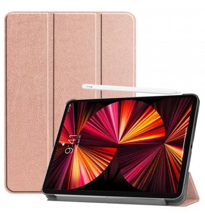 "iPad Pro 11"" Case Premium PU Leather iPad Pro 11 inch 2021 / 2020 / 2018 Support 2nd Gen Apple Pencil Wireless Charging"