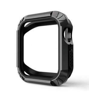 Apple Watch Rugged Protective Case Bumper Casing Protector Guard for Apple Watch Series 4, 44mm Sport NikeEdition