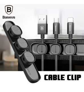 BASEUS Peas Cable Clip Magnetic USB Cord Holder Wire Organizer
