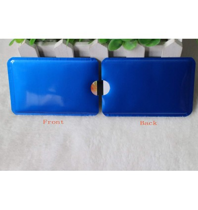 10pcs RFID Blocking Sleeve Anti Theft Aluminum Shield for Debit Card Credit Card ID Protector