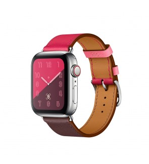 Premium Leather Band Strap Tri Color for Apple iWatch Series 6 / SE / 5 / 4 / 3 / 2 / 1 44mm / 42mm / 40mm / 38mm