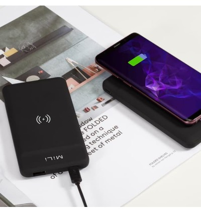 MiLi Power Magic II Fast Charging Powerbank Wireless Charger Power Magic 2 Ⅱ 8000mAh