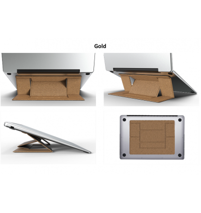 Invisible Laptop Stand Portable Foldable Holder Fit for MacBook iPad Notebook and Tablet