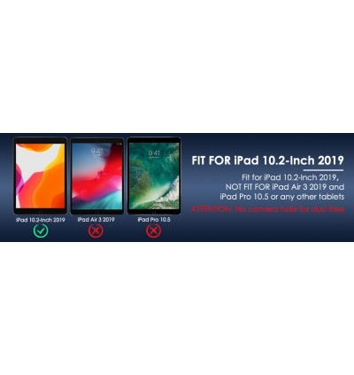 Screen Protector for Apple iPad 10.2'' 2020 / 2019, [Apple Pencil Compatible] [9H Hardness] [Work with Touch ID] [Scratch Resistant] [High Definition] Tempered Glass Screen Protector for iPad 10.2 inch 2020/2019