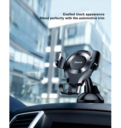 [ORIGINAL] BASEUS Osculum Gravity Car Mount Phone Holder for iPhone Xiaomi Huawei Samsung Oppo Vivo