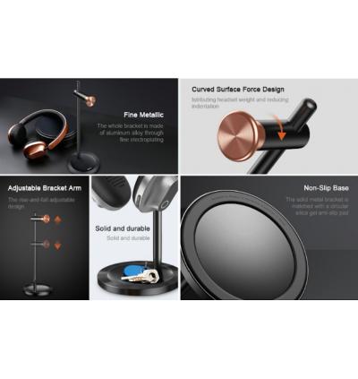 BASEUS Encok Aluminum Alloy Headphone Holder Adjustable Headset Stand DB01