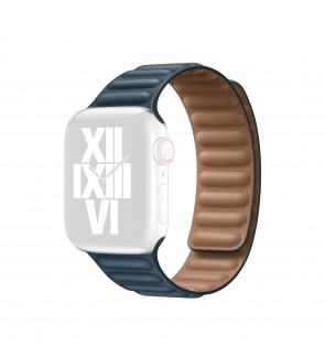 Leather Link Strap 44mm / 42mm / 40mm / 38mm Replacement Strap Band for iWatch