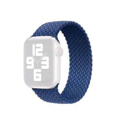 Braided Solo Loop 44mm / 42mm / 40mm / 38mm Replacement Band for Apple iWatch Strap