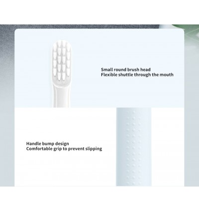 XIAOMI Mijia Sonic Electric Toothbrush T100 IPX7 Waterproof Rechargeable Toothbrush Adult Ultrasonic Automatic Tooth Brush