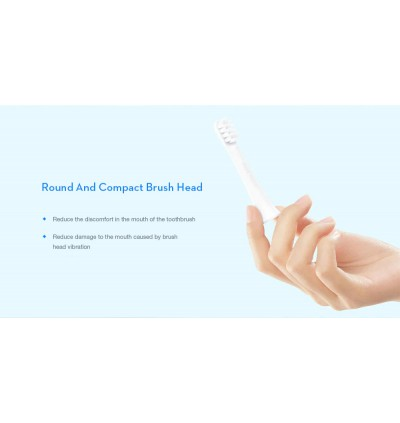 XIAOMI Mijia Electric Toothbrush Replacement Head for T100 MBS302 3pcs