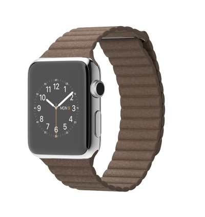 Leather Loop Strap for Apple iWatch Series 6 / 5 / 4 / 3 / 2 / 1