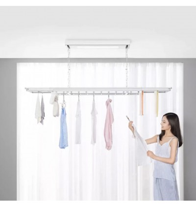 XIAOMI Mijia Smart Clothes Dryer Rack Load Capacity 35kg Mijia App Xiaoai Voice Control One Button Lift For Large Unit