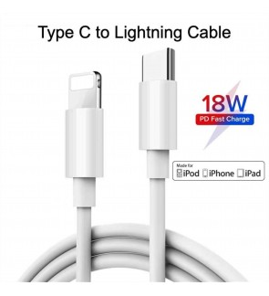 USB-C to Lightning Cable Premium Quality 0.25M and 1M for iPhone iPad