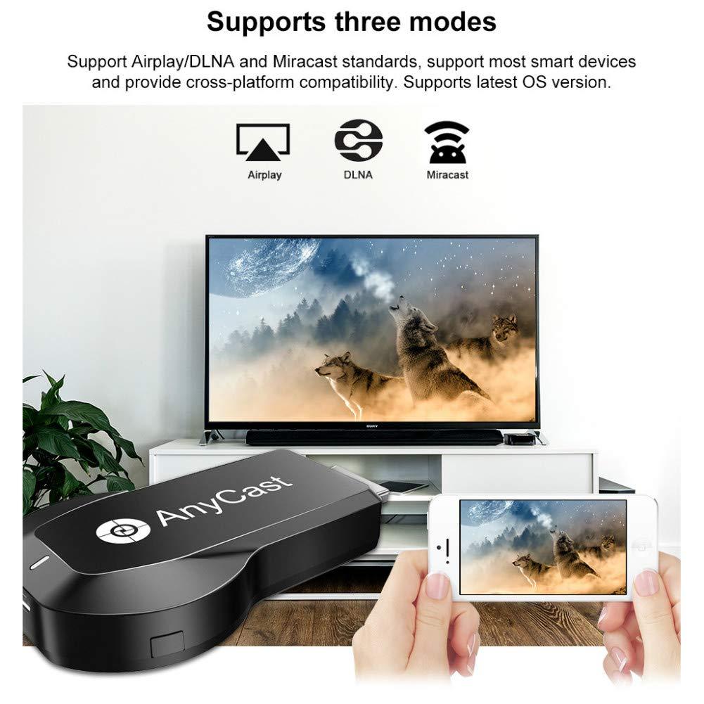 NEW ENHANCED] AnyCast HDMI Dongle Chromecast WiFi Wireless